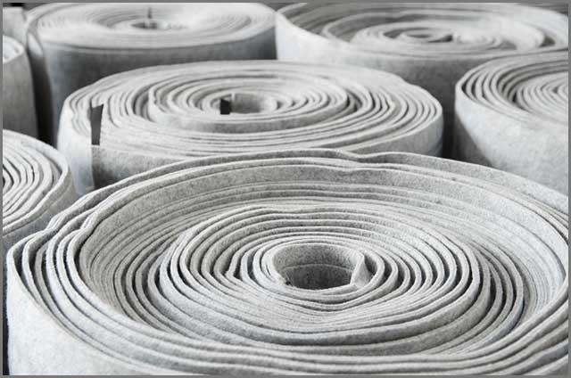 Car insulation fibre